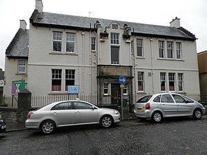 Hunter Street drill hall, Kirkcaldy - Hunter Street drill hall, Kirkcaldy
