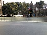 Former Nagoya City Tram and Japan National Railway trains in front of Nagoya City Science Museum 2.JPG