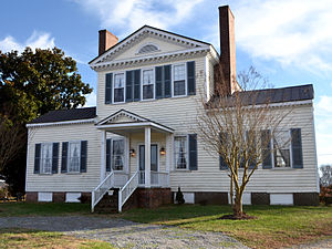 National Register of Historic Places listings in Sussex County, Virginia - Image: Fortsville Front