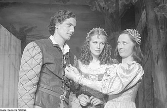 Boleslaw Barlog - Scene from the 1946 production of As You Like It, directed by Barlog at Berlin's  Schlosspark Theater
