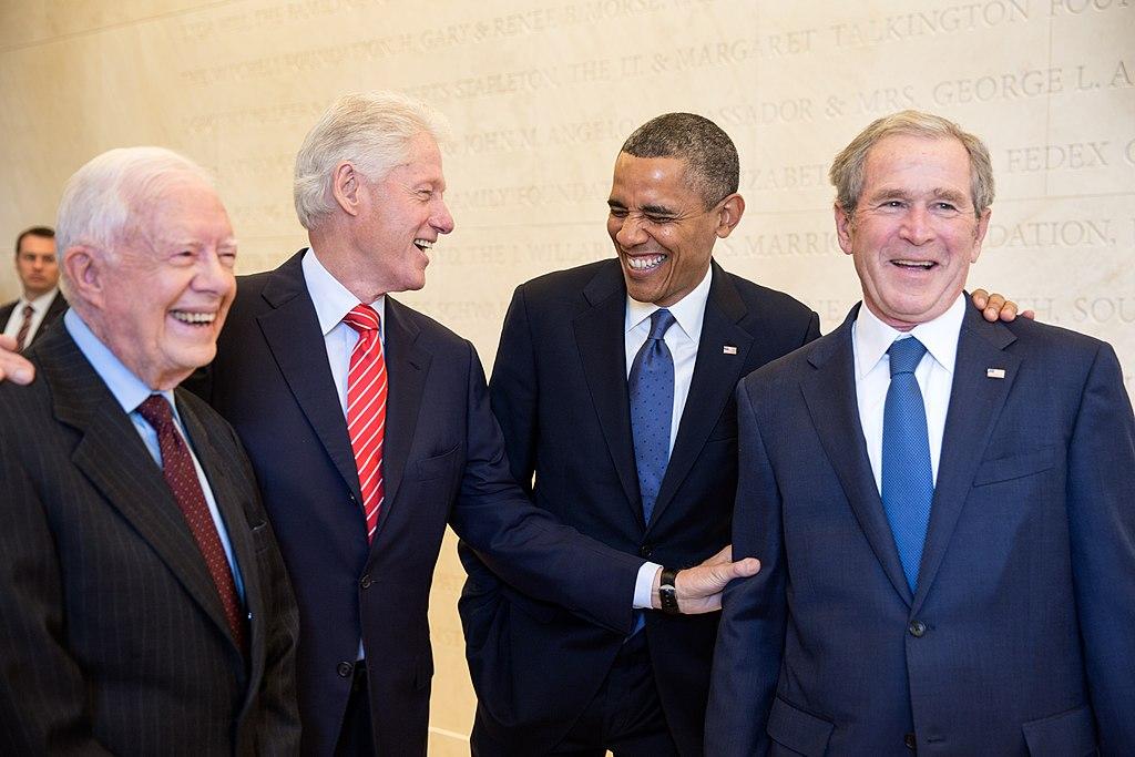 Four U.S. presidents in 2013