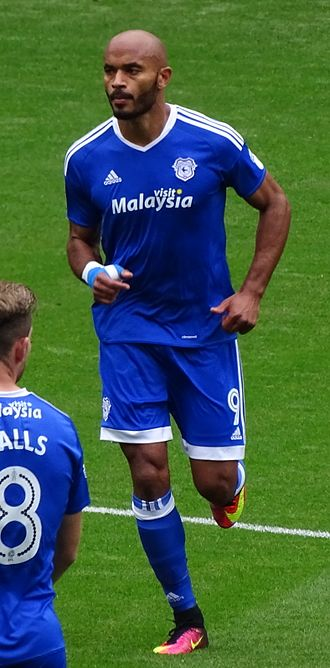 Frédéric Gounongbe - Gounongbe playing for Cardiff City in 2016