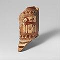 Fragment of a terracotta oinochoe (jug) MET DP132628.jpg