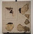 Fragments de la mosaique du balneum du - Palais du Gouverneur - Lyon - colline de Fourvière 01.jpg