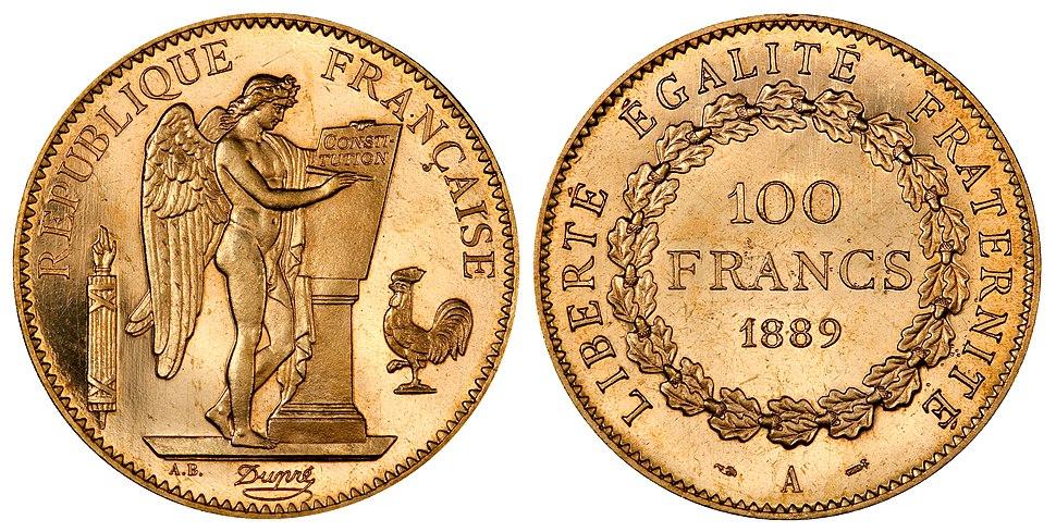 France 1889-A 100 Francs