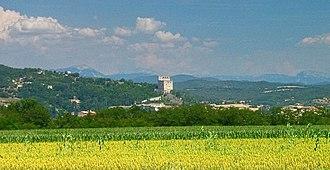 Crest, Drôme - Image: France Drome Crest 1