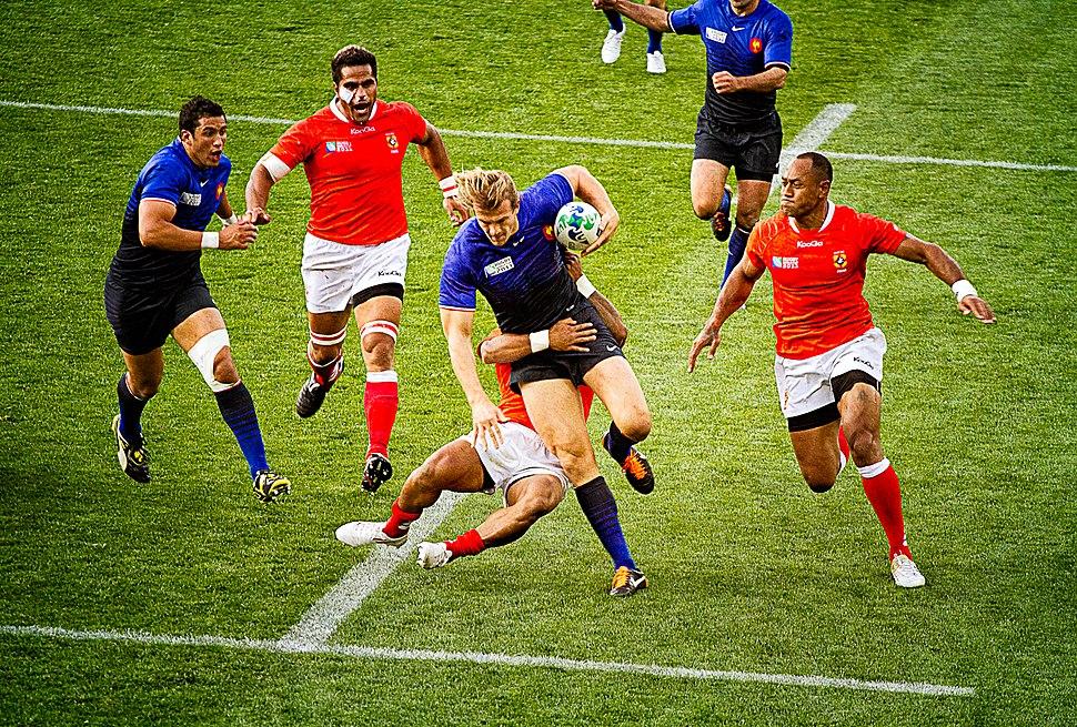 France vs Tonga 2011 RWC (1)