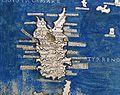 Francesco Berlinghieri, Geographia, incunabolo per niccolò di lorenzo, firenze 1482, 15 italia 06 corsica.jpg