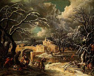 Francesco Foschi - Image: Francesco Foschi Paesaggio invernale