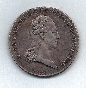 Orsini-Rosenberg - Franz Xaver von Orsini-Rosenberg