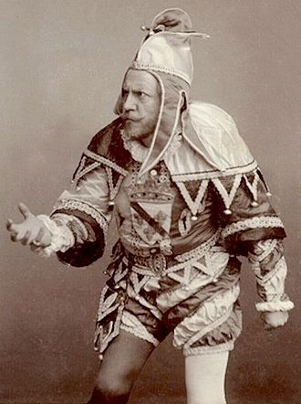 Francisco D'Andrade - D'Andrade as Rigoletto, the role in which he made his Covent Garden debut in 1886