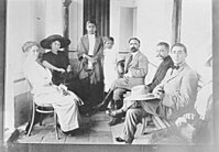 Francisco I. Madero and His Wife Sara Perez de Madero with Group of People (25633172944).jpg