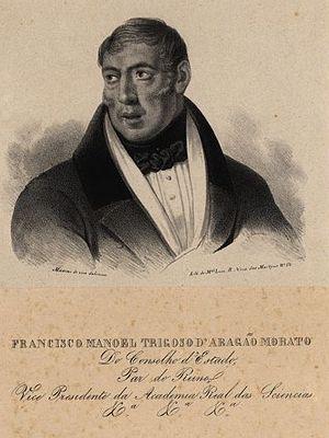 Francisco Manuel Trigoso - Image: Francisco Manuel Trigoso de Aragao Morato