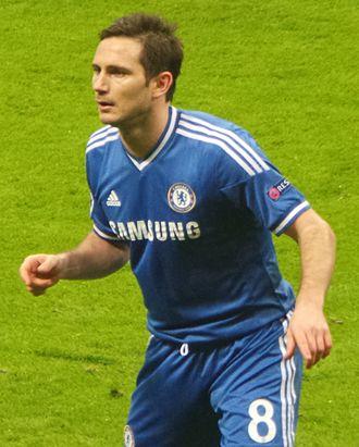 PFA Merit Award - Image: Frank Lampard'13 14
