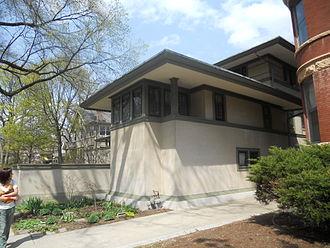 Frank Thomas House - Frank W. Thomas House (1901), 210 Forest Avenue, Oak Park, IL
