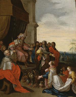 King Solomon Receiving the Queen of Sheba