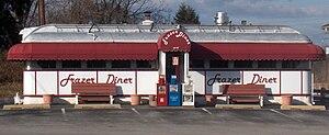 Frazer Diner, a Jerry O'Mahony Co. diner, esta...