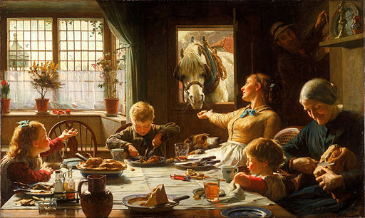 Frederick George Cotman - One of the Family - Google Art Project