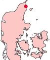 Frederikshavn Denmark location map.png