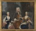Fredrik I, 1676-1751, Ulrika Eleonora d.y., 1688-1741, Sofia Charlotta Karolina, 1678-1749 - Nationalmuseum - 16064.tif