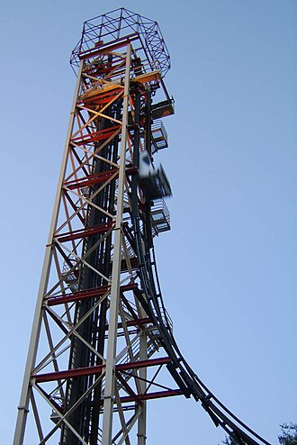 Freefall (ride) - Freefall at Six Flags Over Georgia. This installation has since been removed