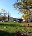 Freie Universitaet Berlin Blick vom JuraGebaeude.jpg