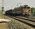 Freight train with WAG 5H of BZA(Vijayawada) loco shed.jpg