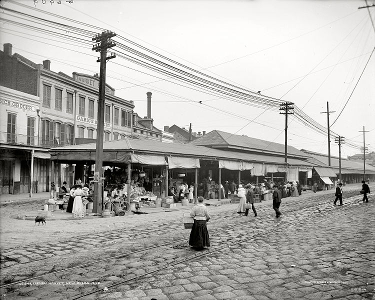 File French Market New Orleans 1910 Jpg Wikimedia Commons