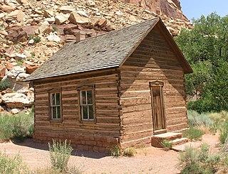 Ghost town in Utah, United States