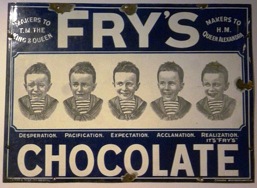 Fry's Chocolate advertisement