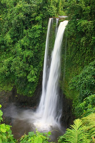 Lotofaga - Fuipisia Falls in Lotofaga