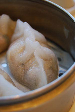 Looks like this dumpling is comin' atcha.