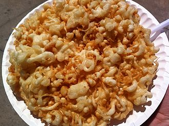Funnel cake - Funnel cake with no toppings.