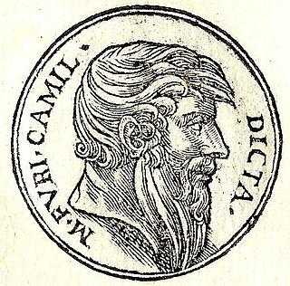 Marcus Furius Camillus 4th-century BC Roman Dictators and general