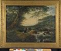 G. van Nijmegen - Bosgezicht met waterval - R3482 - Cultural Heritage Agency of the Netherlands Art Collection.jpg