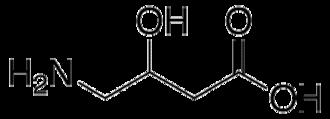 Gamma-Amino-beta-hydroxybutyric acid - Image: GABOB