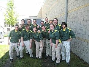 Green Garter Band - Image: GGB 2008 to 09