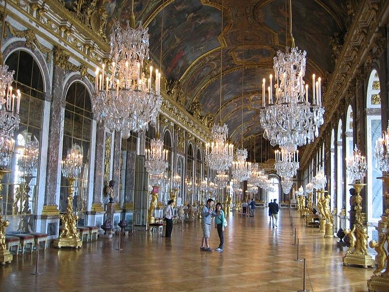 Galerie Des Glaces Chateau De Versailles Restauration