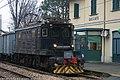 Galliate - stazione ferroviaria - locomotiva E.600.jpg