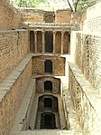 Baoli known as diving wall locally known as (Candak-ki-baoli or Gandhak-ki-baoli)