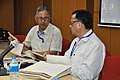Ganga Singh Rautela and Pramod Kumar Jain - Opening Session - VMPME Workshop - Science City - Kolkata 2015-07-15 8477.JPG