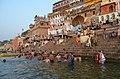 Ganges River, Varanasi (8717537532).jpg