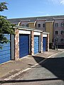 Garages on Lucky Lane, Exeter - geograph.org.uk - 743893.jpg