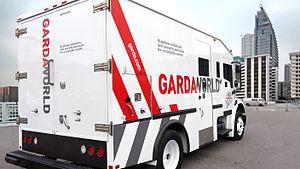 GardaWorld - GardaWorld Armoured Truck