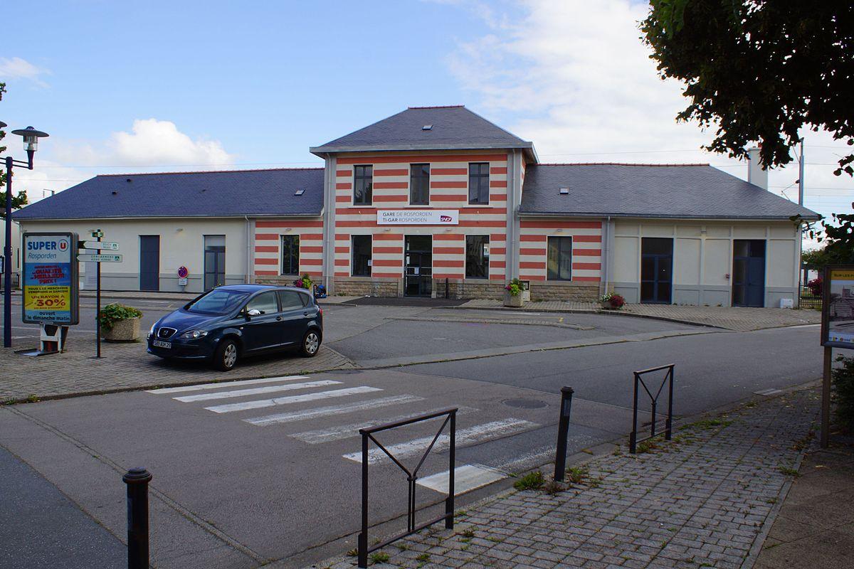 Rosporden Centre Ville