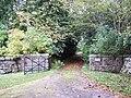 Gated entrance to Garlogie House - geograph.org.uk - 581372.jpg