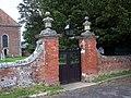 Gates to All Saints Church, Farley - geograph.org.uk - 447892.jpg