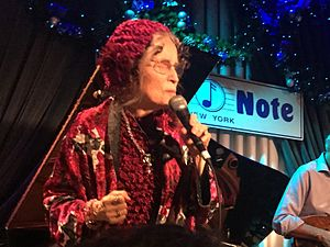 Gayle Moran, Blue Note Jazz Club, New York City, 10 December 2016.jpg