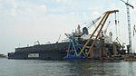 Gdańsk Shiprepair Yard Remontowa – Sparto on the Martwa Wisła in Gdańsk.JPG