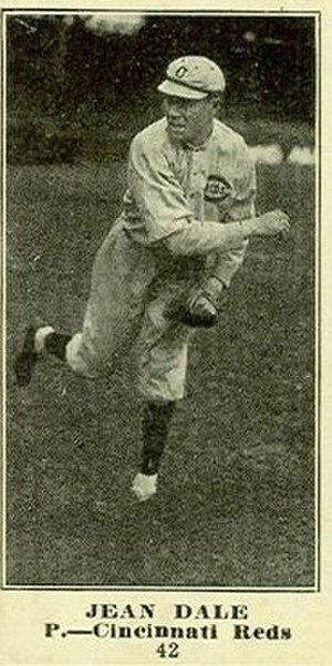 Gene Dale - Dale's 1916 trading card